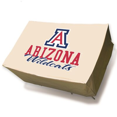 NCAA Rectangle Patio Table Cover NCAA Team: University of Arizona Wildcats