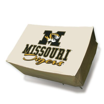NCAA Rectangle Patio Table Cover NCAA Team: University of Missouri Tigers