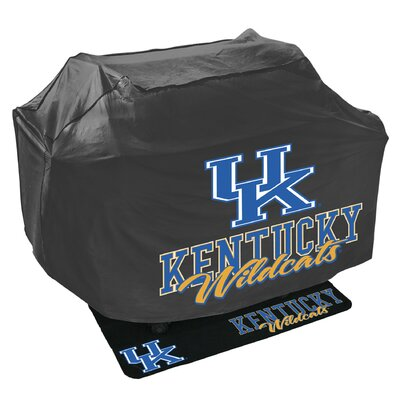 NCAA Grill Cover and Grill Mat Set NCAA Team: University of Kentucky Wildcats 162844