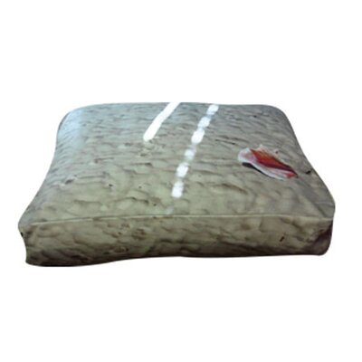 Rectangle Beach Dog Pillow Size: Medium (30 L x 24 W)