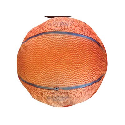 Round Basketball Dog Pillow Size: Small (20 L x 20 W)