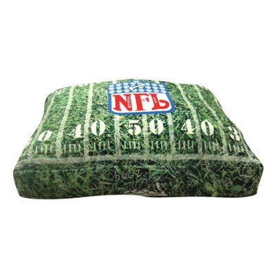 Rectangle Napper For Life Dog Pillow Size: Small (20 L x 20 W)