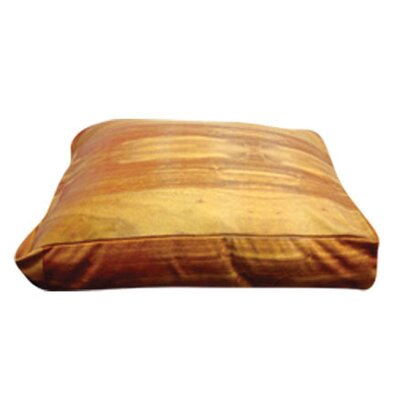 Rectangle Wood Flooring Dog Pillow Size: Small (20 L x 20 W)