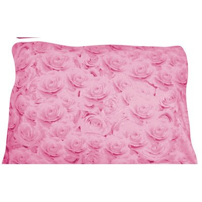 Rectangle Dog Pillow Size: X-Large (42 L x 36 W), Color: Pink