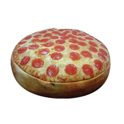 Round Pizza Pet Bed Size: Small (20 W x 20 D)