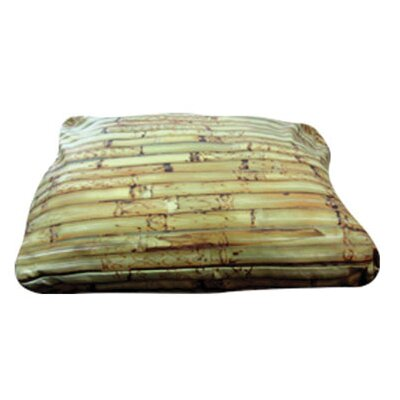 Rectangle Bamboo Dog Pillow Size: Small (20 L x 20 W)