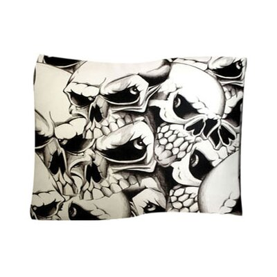 Skulls Pet Throw Size: X-Large