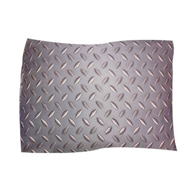 Diamond Plate Pet Throw Size: Large