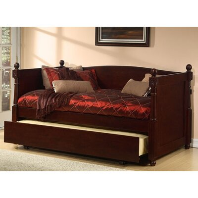 Monterey French Daybed with Box Trundle Finish: Walnut