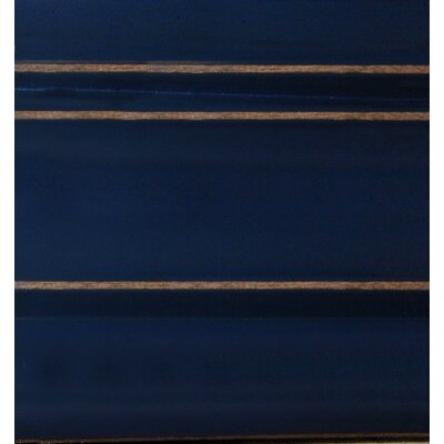 Slatted Queen Panel Bed Finish: Denim Blue