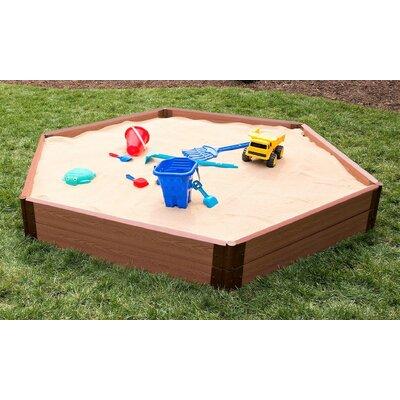 7 ft. Two Inch Series Hexagonal Sandbox