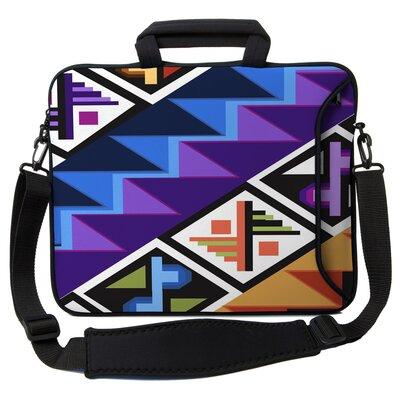 Executive Sleeves Tropical Textile PC Laptop Bag Size: 15