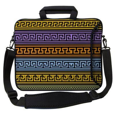Executive Sleeves Greek Patterns PC Laptop Bag Size: 15