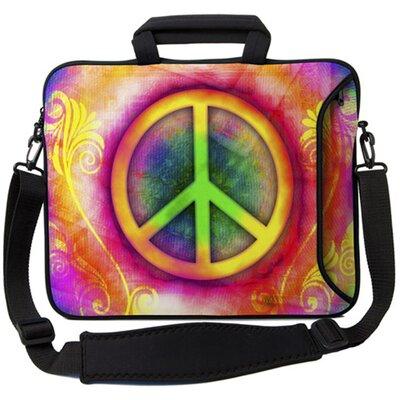 Executive Sleeves Peace PC Laptop Bag Size: 15