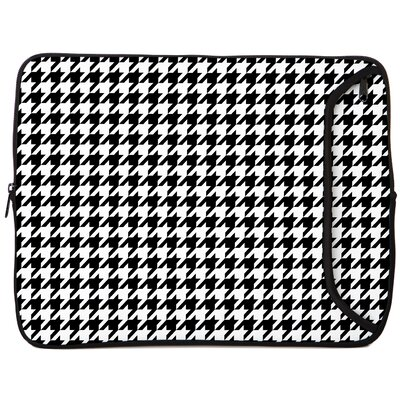 Houndstooth Designer PC Sleeve Size: 17
