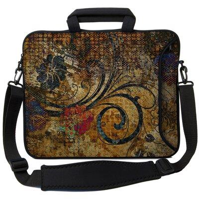Executive Sleeves Vintage Fleur PC Laptop Bag Size: 13
