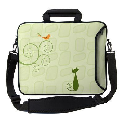 Designer Sleeves Executive Sleeves Patience PC Laptop Bag - Size: 13