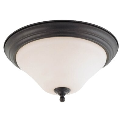 Yale Flush Mount Size / Energy Star: 11 W x 7 H / No