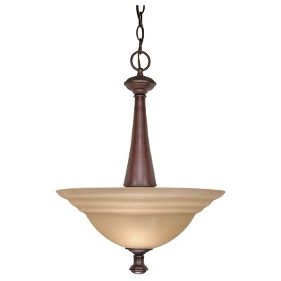 Jami 2-Light Inverted Pendant Energy Star: No