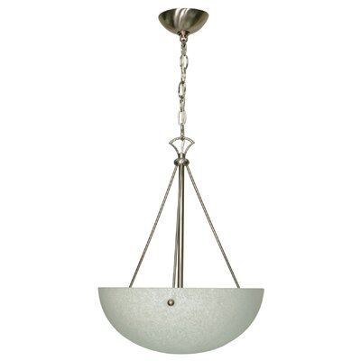 Woolwich 3-Light Inverted Pendant