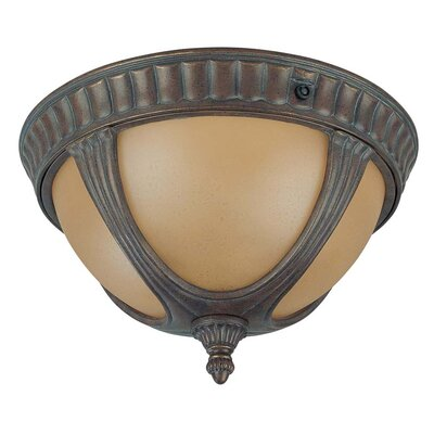 Beaumont 2-Light Flush Mount Energy Star Compliant: Yes