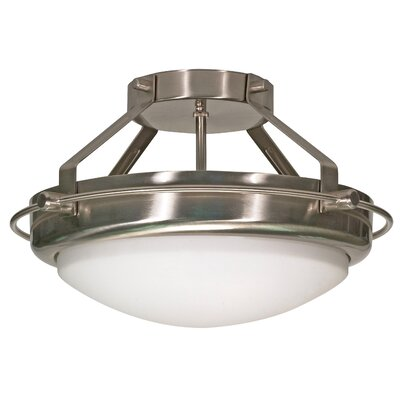 Bunton Semi Flush Mount Energy Star: No
