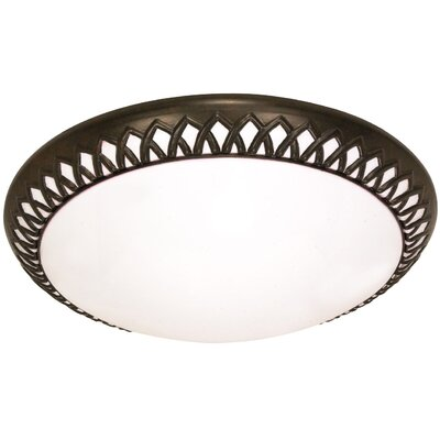 Duffield Energy Star Flush Mount Size: 5 H x 17 W