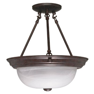 Coulston Semi Flush Mount Size: 14 H x 13.25 W