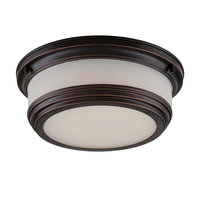 Dawson Light Flush Mount Finish: Georgetown Bronze