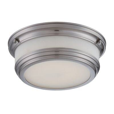 Dawson Light Flush Mount Finish: Brushed Nickel