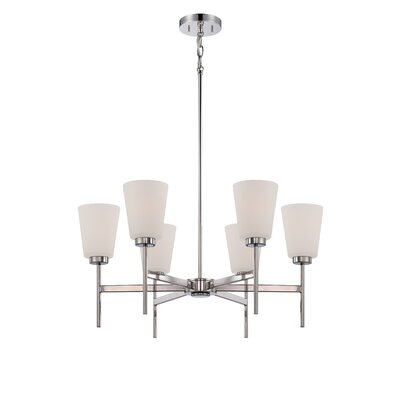 Benson 6-Light Shaded Chandelier
