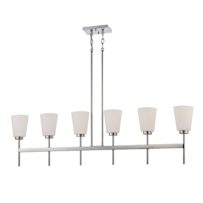 Benson 6-Light Kitchen Island Pendant
