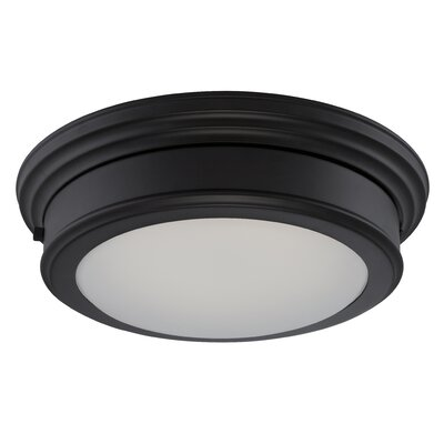 Chance 1-Light Flush Mount Finish: Aged Bronze