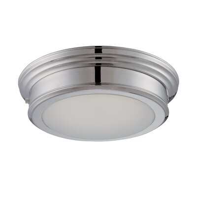 Suter 1-Light Flush Mount Finish: Polished Nickel