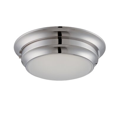 Dash 1-Light Flush Mount Finish: Brushed Nickel