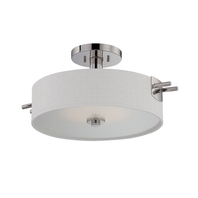 Claire 1-Light Semi Flush Mount