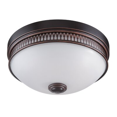 Harper 1-Light Flush Mount Finish: Georgetown Bronze
