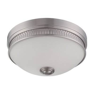 Harper 1-Light Flush Mount Finish: Brushed Nickel