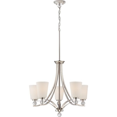 Gace 5-Light Shaded Chandelier