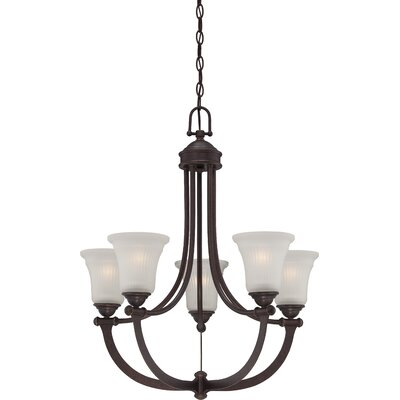 Monroe 5-Light Shaded Chandelier