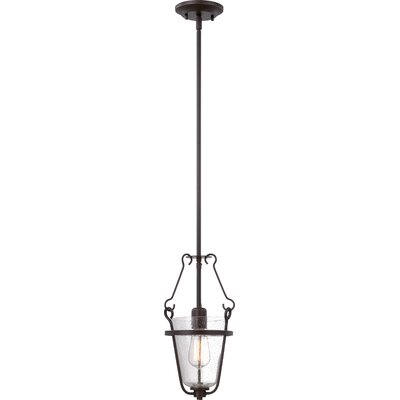 Latham 1-Light Pendant Finish: Copper Espresso