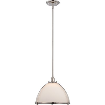 Sagamore 1-Light Mini Pendant Size: 4.38 H x 13 W