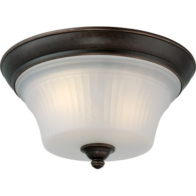 Monroe 2-Light Flush Mount
