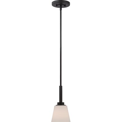 Mobili 1-Light Mini Pendant Finish: Aged Bronze