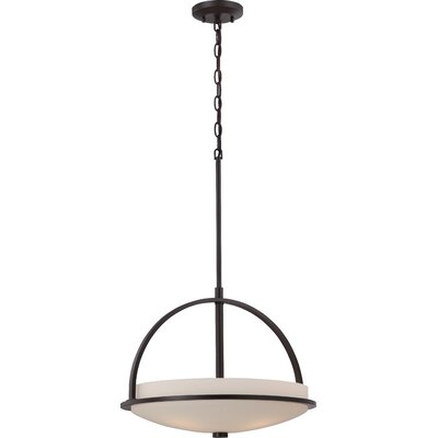 Collin 3-Light Pendant Finish: Sudbury Bronze