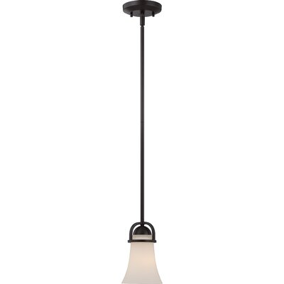 Collin 1-Light Mini Pendant Finish: Sudbury Bronze