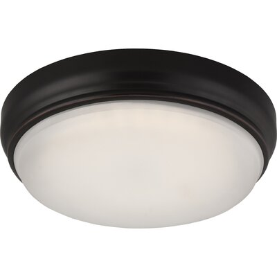 DOT 1-Light Flush Mount Finish: Georgetown Bronze