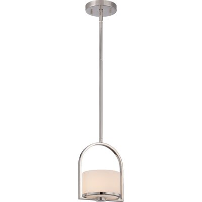 Triangulum 1-Light Mini Pendant Finish: Polished Nickel