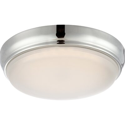 DOT 1-Light Flush Mount Finish: Polished Nickel