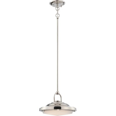 Sawyer 1-Light Mini Pendant Finish: Polished Nickel